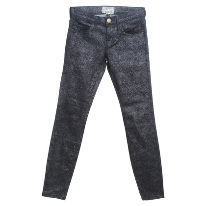 Current Elliott Jeans a Navy / Argento