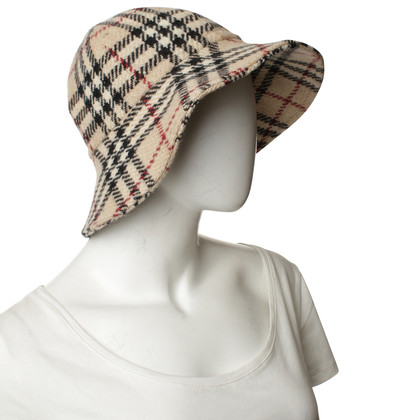 Burberry Cappello con Plaid