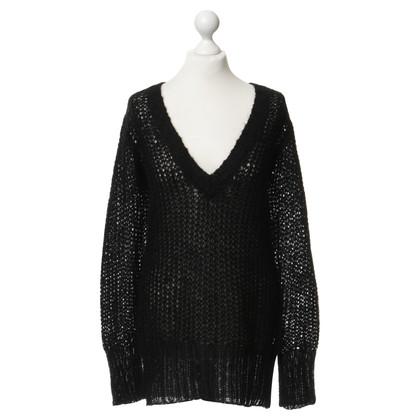 By Malene Birger Black knit pullover