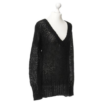 By Malene Birger Pullover in maglia nero