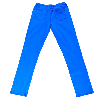 Moschino Love Gentian blue summer trousers