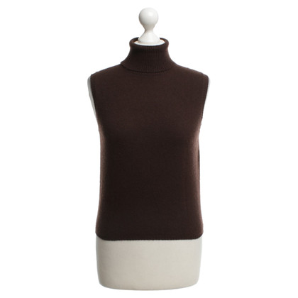 Brunello Cucinelli Tank top made of cashmere