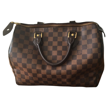 "Louis Vuitton ""Speedy Damier Ebene Canvas"""