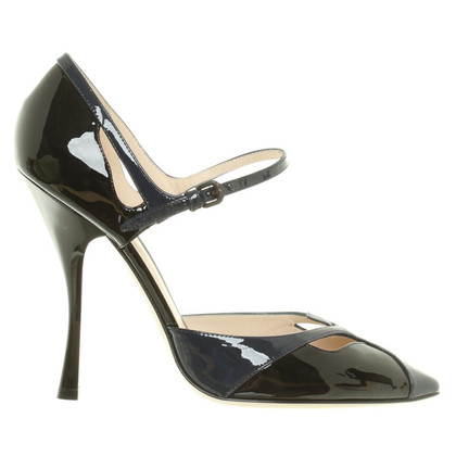 Bottega Veneta Pumps aus Lackleder