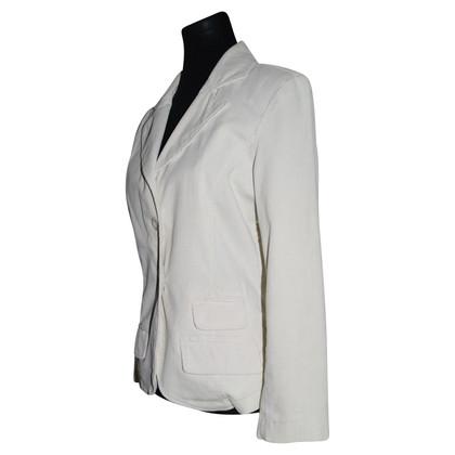 JOOP! Corduroy - Blazer in lana bianca