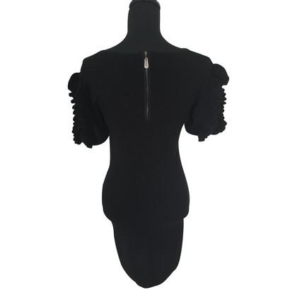 Christian Dior Abito nero di cachemire