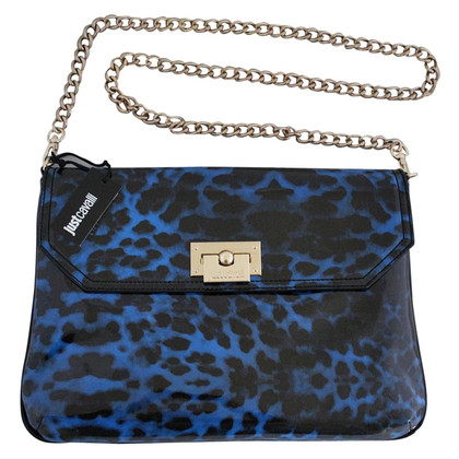 Just Cavalli Lackleder-Handtasche