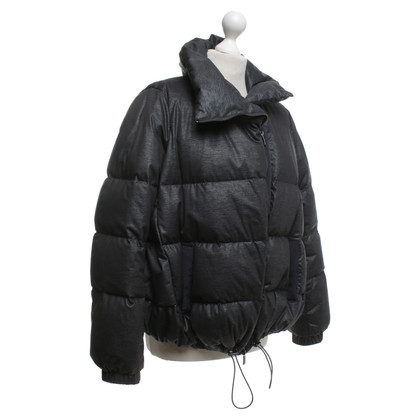 Armani Collezioni Down jacket in dark gray