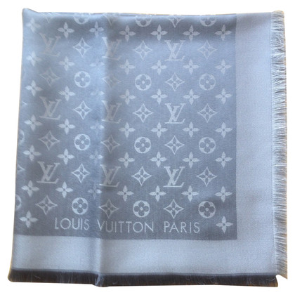Louis Vuitton Monogram Shine Cloth in grey / Silver