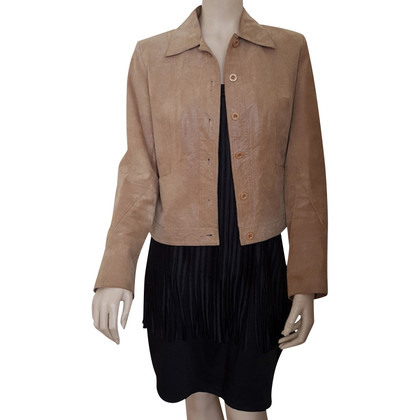 Arma Leather jacket in brown