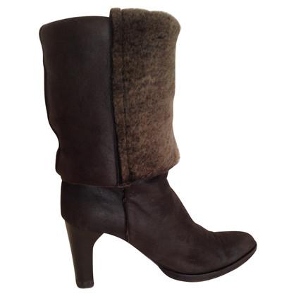 Fendi Sheepskin boots