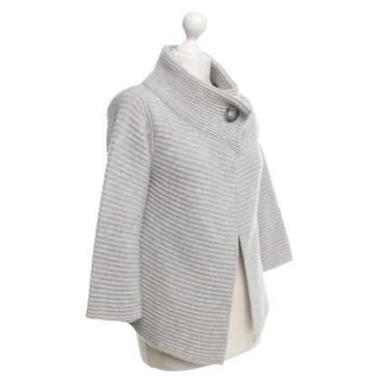 Hemisphere cardigan in maglia in grigio