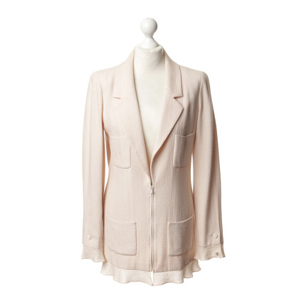 Chanel Giacca lunga in rosato