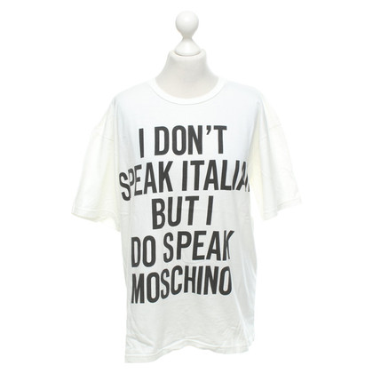 Moschino T-shirt in white