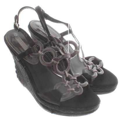 Céline Sandals with wedge heel
