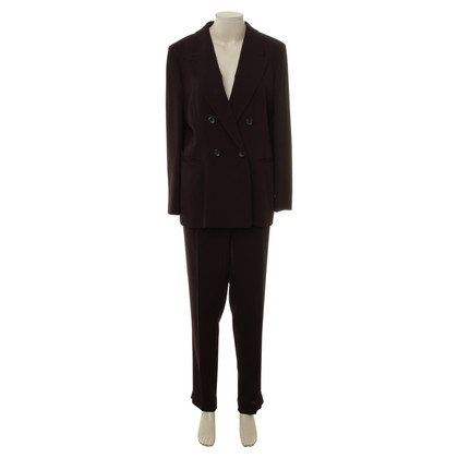 Jil Sander Pants suit in Bordeaux