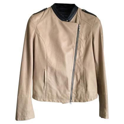 Armani Jeans leather vest