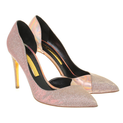 Rupert Sanderson Pumps in glitter look