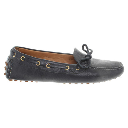 Car Shoe Moccasins leather