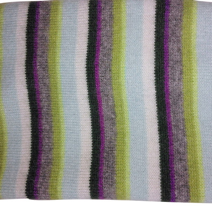 FTC Striped cashmere scarf