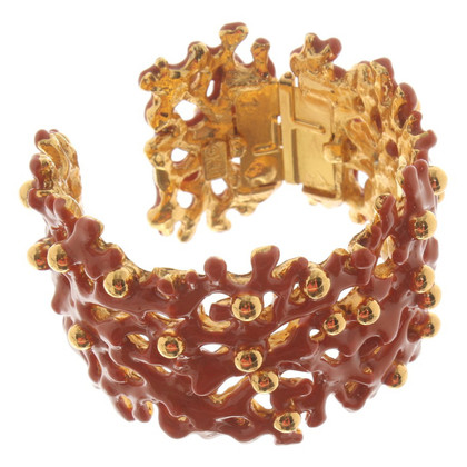 Kenneth Jay Lane Bangle optique de corail