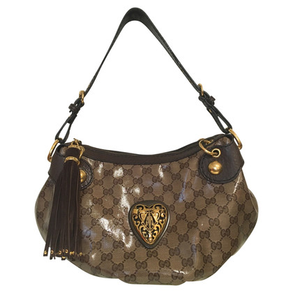Gucci Handbag with Emblem