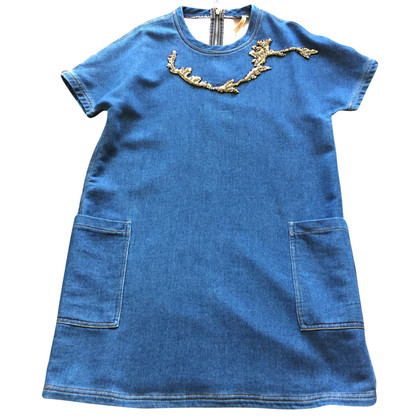 Max & Co Abito in denim con ricamo