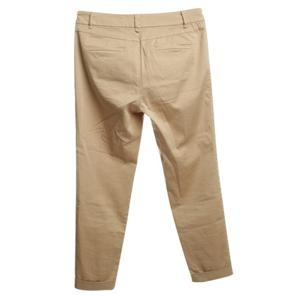 Marc Cain Cotton trousers in beige