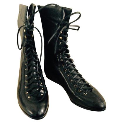 Vionnet Lace-up boots