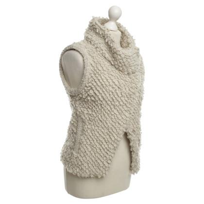 Iro Vest in Cream