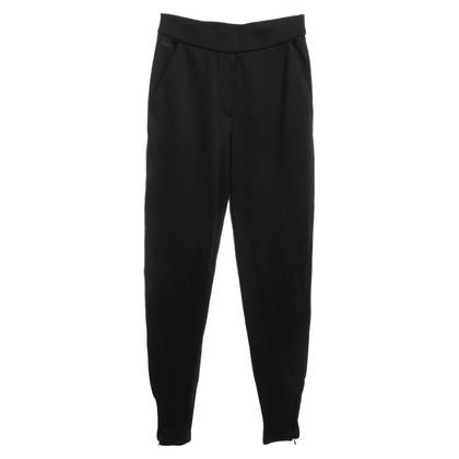 Lacoste High-Waist Hose in Schwarz