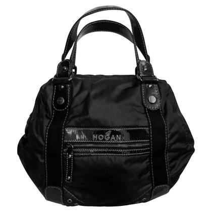 Hogan Tasche mit Lackleder