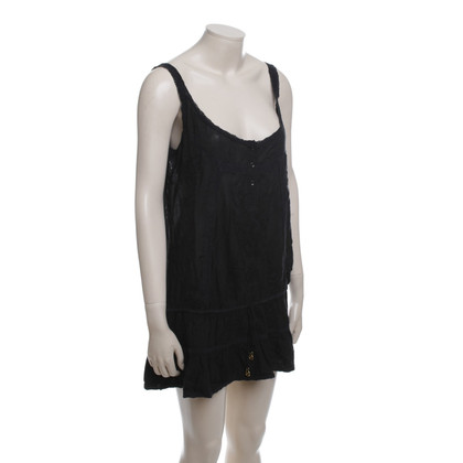 Melissa Odabash Long Tank in zwart