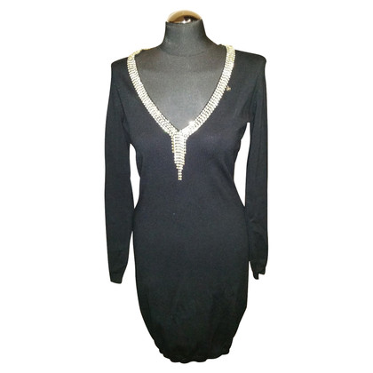 Elisabetta Franchi Beautiful knit dress with rhinestone