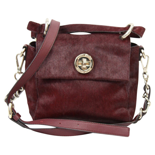 2864ea552d Karen Millen Shoulder bag in Bordeaux - Second Hand Karen Millen ...