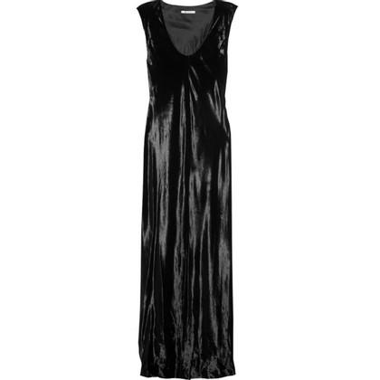 T by Alexander Wang Maxi jurk gemaakt van fluweel