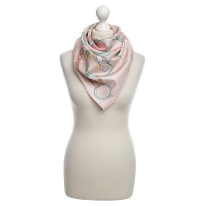 """Hermès Sciarpa di seta """"Les Parisiens"""""""