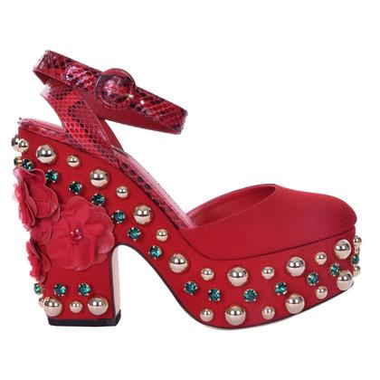 Dolce & Gabbana sandali con plateau