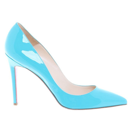 Christian Louboutin pumps turchese