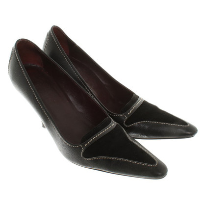 Tod's pumps leather