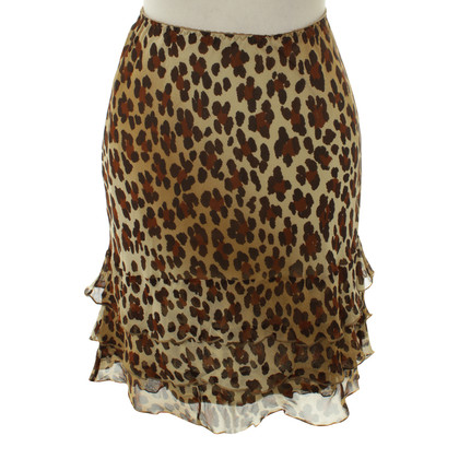 Moschino Cheap and Chic skirt in the animal-print