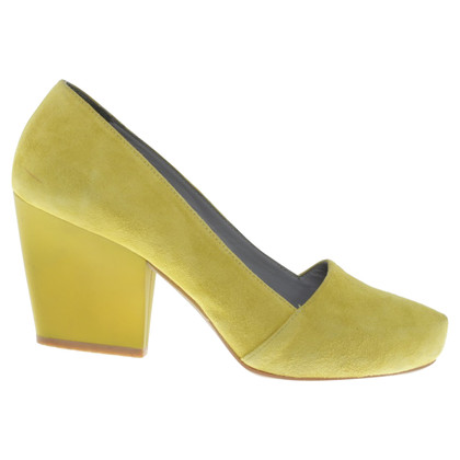 Cos Lime Green pumps
