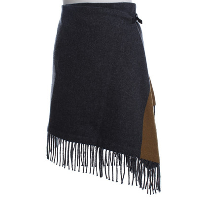 Etro Wool skirt in grey