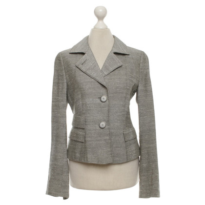 Akris Gray blazer made of silk