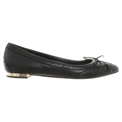 Burberry Ballerinas in Schwarz