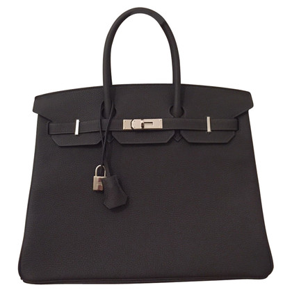 Hermès Hermès Birkin 35 graphite PHW