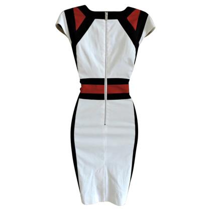Karen Millen zwart/wit jurk