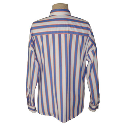 0039 Italy Blouse with striped pattern