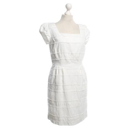 Steffen Schraut Fransen-Kleid in Weiß