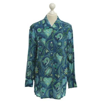 Laurèl Blouse with graphic pattern